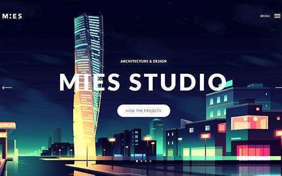 Mies Architecture Theme