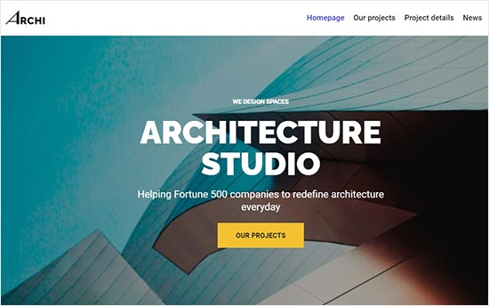 Neve Theme for Architecture Firms