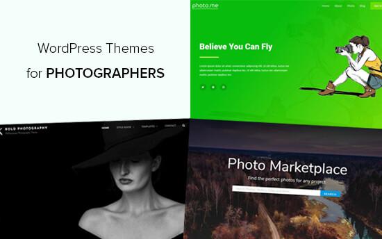 Best WordPress Themes for Photographers
