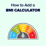 How to Add a BMI Calculator in WordPress (Step by Step)