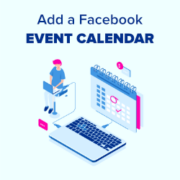How to Add a Facebook Event Calendar in WordPress